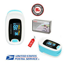 USA OLED Fingertip Pulse Oximeter Finger Blood Oxygen SpO2 PR Heart Rate Monitor