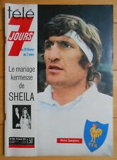 ►TELE 7 JOURS 670 - 1973 - WALTER SPANGHERO - LE MARIAGE DE SHEILA