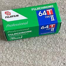 64T TYPE II FUJI CHROME TUNGSTEN 120 Med Format EXPIRED2007 Color Slide Film