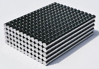 2mm x 2mm Tiny Neodymium Disc Magnets N50, New, Super Strong! -100 or 500 pcs