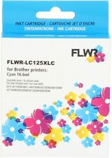FLWR LC-125XLC Cyan Compatible Cartridge for FLWR Brother NON OEM