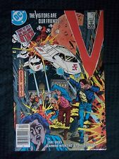 DC 1985 # 3 V ... THE VISITORS ARE OUR FRIENDS