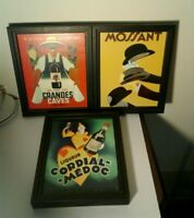SALE  Canvas Print Wall Art entitled Vintage Advertising Posters Mossant Cordial