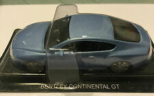 "DIE CAST "" BENTLEY CONTINENTAL GT "" DREAMS CAR SCALA 1/43"