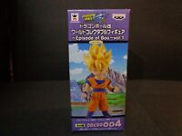 BANPRESTO DRAGON BALL Z EPISODE BOO vol 1 WCF SON GOKU 004 FIGURE GOKOU WCF