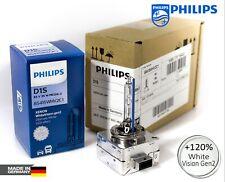 PHILIPS D1S Xenon White Vision Gen2 +120% 5000K HID Head Light Bulb 85415WHV2C1