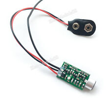 9V Wireless Microphone Audio FM Transmitter Module Baby Surveillance Monitoring