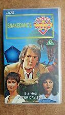 Doctor Who - Snakedance (VHS, 1994) - Peter Davidson