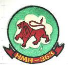 USMC Original vintage Squadron patch  HMH-363 Lucky Red Lions