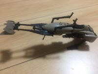 STAR WARS  VINTAGE ACTION  FIGURE VEHICLE- SPEEDER BIKE