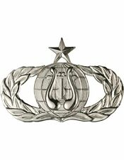 USAF Badge (AF-313B) Senior Band No Shine