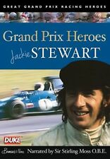 Jackie Stewart Grand Prix Heroes (New DVD) Narrated by Stirling Moss F1
