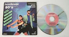 laserdisc karaoke 80's vol4 ntsc