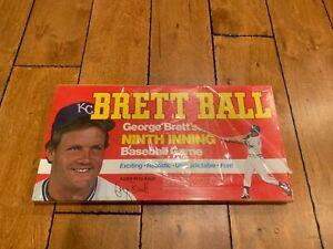 Brett Ball George Brett's Ninth Inning Baseball Game Vintage Board Game SEALED