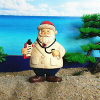 Xmas theme Santa Claus Tree Home Micro Fairy Figurines Miniatures Gardens De_hg