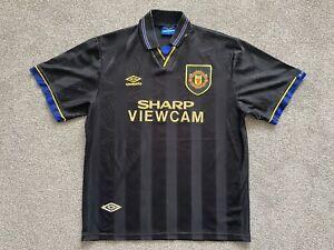 Manchester United Away Football Shirt Jersey 1993-1995 (L)