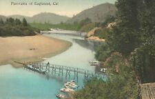 Eaglenest,California,View of River,Sonoma County,Used,Eaglenests,DPO (4),1910