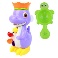 Baby Children Kids Bath Toys Tub Bathroom Dinosaur Water spray toy