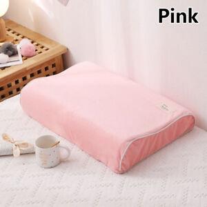 Solid Velvet Pillowcases Pillow Case Cover For Contour Memory Foam Pillow Cases