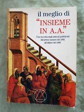 Libro Book il meglio di insieme a.a. alcolisti anonimi 1997 articoli 82/86 #UF2