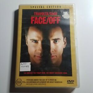 Face/Off   DVD Movie   Nicolas Cage, John Travolta, Dominique Swain  Action