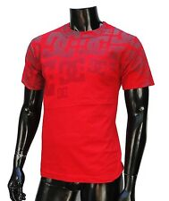 Dc shoes Team Usa skateboard All Over Logo Classic mens Red t shirt Small