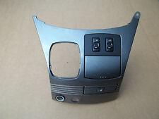 2004-2010 Toyota Sienna XLE Shifter Trim Dash Panel Silver bezel surround 04-10