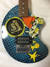 Parappa The Rapper Guitar Fernandes ZO-3 Extremely Rare PS1 PlayStation Official