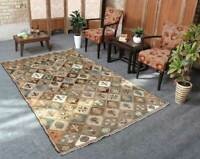 5x8 Oriental Vintage Hand Knotted Traditional Geometric Wool Area Rug