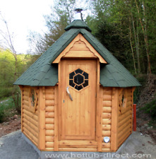 Sauna Cabin 7m² outdoor Saunahaus