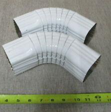 """Gutter Elbow (A) 2"""" x 3"""" White  Aluminum Gutter Downspouts"""