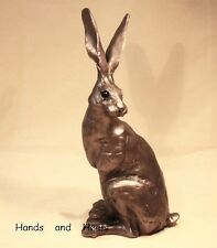 Sitting Hare Small - Paul Jenkins - Superb Gift - New