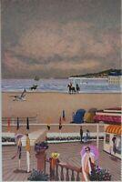 Dilley Ramon: Los Láminas De Deauville - Litografía Original Firmada, 250ex