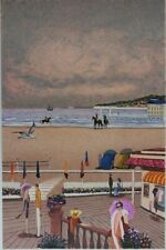 Dilley Ramon: the Boards of Deauville - Lithography Original Signed #250ex