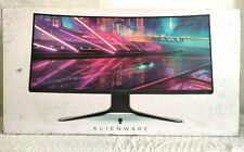 Open Box Alienware AW3420DW 34-inch 120Hz Curved Ultrawide IPS Gaming Monitor