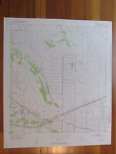 Indiantown Florida 1955 Original Vintage USGS Topo Map