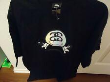 Stussy T-Shirt Link Tee Black  Size XL