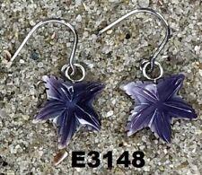 E3148 Wampum Earrings Dangle
