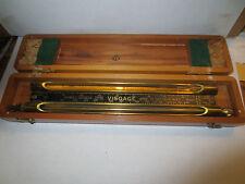 Visage Viscosity Comparator Gauge Wood Box Louis C. Eitzen Company great conditi