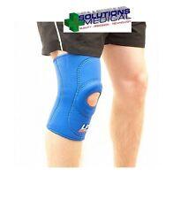 Open Patella Standard Knee Support LP Neoprene Medium Light Blue