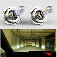 2pcs H7 55W 12V Xenon Halogen Front Headlight Light Bulbs Lamp Super Bright LEDs