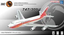 DRAGON 55961 ANGOLA AIRLINES 747-300 D2-TEA 1/400 DIECAST MODEL PLANE NEW