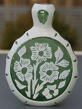 Seltenes Schnupftabakglas - Bixl - Schnupftabakflasche !!! Mundgeblasen !! Nr.49