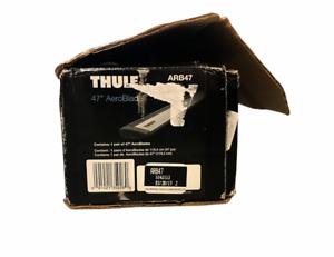 "New THULE ARB47 47"" AeroBlade 2x 119cm Load Bars"