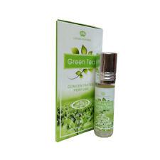 Green Tea by Al rehab Ozonic Fresh Musk Perfume Oil 6ml Roll On Single Bottle