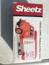 1952 Gmc Insulated Van-Sheetz Dairy-2002 1St Gear 1/34 Scale #19-2957 Mib