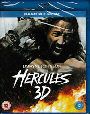 Hercules - 3D Blu Ray + blu ray - Brand New & Sealed