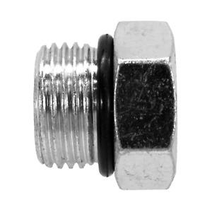 "6408-10 Hydraulic Fitting 7/8"" Male Boss SAE Plug 7237X10"