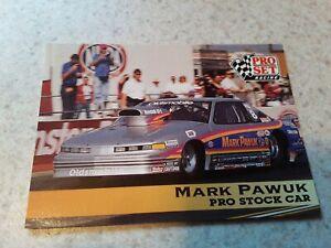 1991 Pro Set Racing Mark Pawuk Trading Card