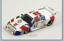 Bmw M1 #52 Le Mans 1981 1:43 Spark S1583 Modellino